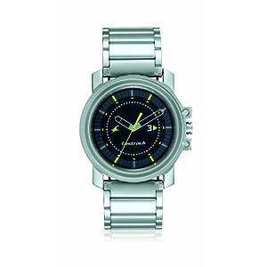 Fastrack Analog Black Dial Men's Watch - 3039SM04