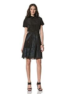 Twinkle by Wenlan Women's Primal Earth Skirt (Cherry Blossom)