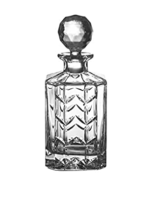 Fitz and Floyd Fleur Crystal Square 26-Oz. Decanter