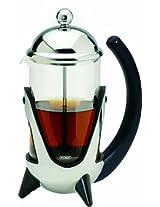 G&H Tea Services 2-Cup Shanghai West Tea and Coffee Press Pot, Chrome