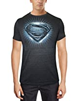 Man of Steel Men's Cotton T-Shirt