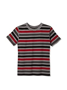 Soft Clothing for Children Boy's Le Havre Short Sleeve Tee (Red)