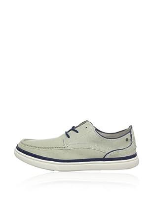 Rockport Zapatos Casual Moc Low (Hielo / Marino)