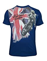 Pepe Jeans Flag And Rider Navy T-Shirt