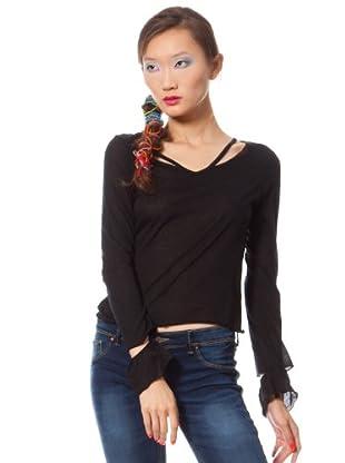 Custo Camiseta Operi (Negro)