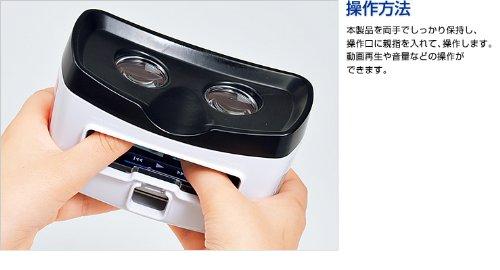 サンワダイレクト iPhone4S/iPhone4専用3Dビューアー 400-CAM021