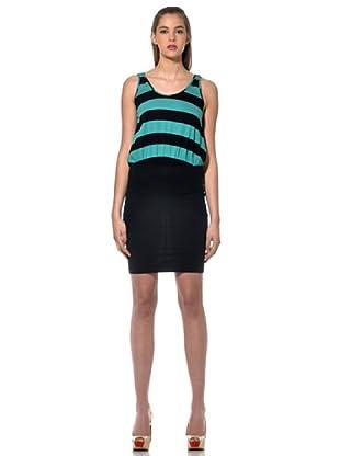 Fiorucci Vestido Prato (Negro/Verde)