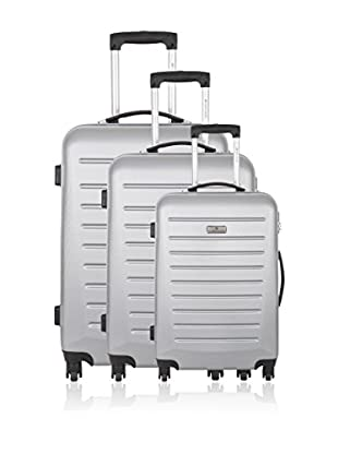 PLATINIUM 3er Set Hartschalen Trolley Guild