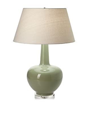 Lighting Accents Porcelain Urn Table Lamp (Green)