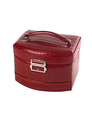 Platinium Porta gioielli 3 compartimenti rosso