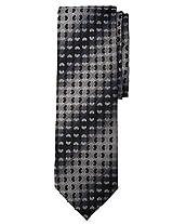 Men's Fashion Tie - Black Pattern