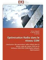 Optimisation Radio Dans Le Reseau GSM (Omn.Univ.Europ.)