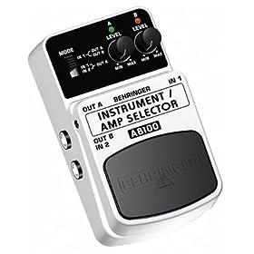 BEHRINGER INSTRUMENT/AMP SELECTOR