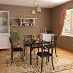 Housefull Orlin Dining Set (1 Table + 4 Chairs) - 100008296