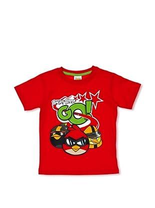 Licencias Camiseta Angry Birds (Rojo)