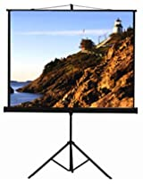 Inlight Premium Tripod Type Projector Screen, 7 Feet (W) x 5 Feet (H), With 1.2 Gain, Supports 3 D and 4 K