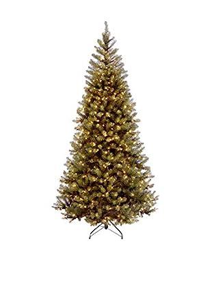 National Tree Company Aspen Spruce Hinged Tree
