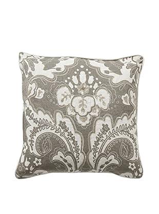 Villa Home Baroque & Roll Luxe Stone Pillow (Linen)