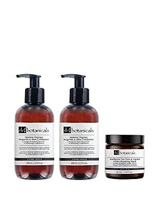 DR BOTANICALS Gesichts-/Haarpflege Kit 3 tlg. Set Japanese Orange - Tea Tree And Jojoba