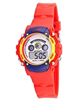 Disney Digital Multi-Color Dial Children's Watch - 1K2314P-MC-002RD