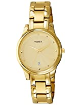 Timex Classics Pair Plain 3 hands Analog Gold Dial Unisex Watch - Sets TI00PR18000