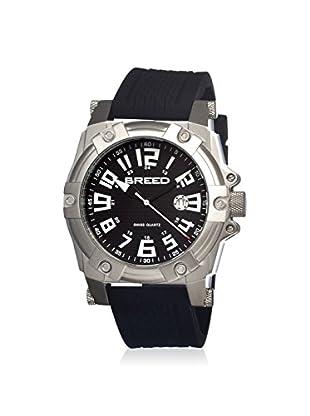 Breed Men's BRD2101 Bolt Black Silicone Watch
