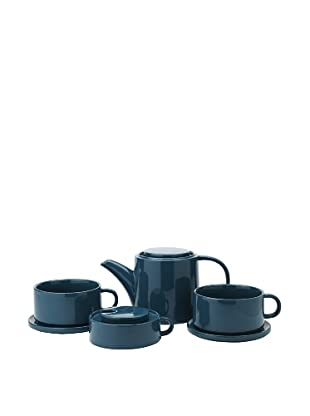 Classic Coffee & Tea Tea For Two Set (Teal)