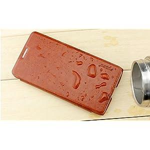 Pudini Luxury Flip Case Cover For Moto G 2nd Gen XT1068 (Vintage Brown)