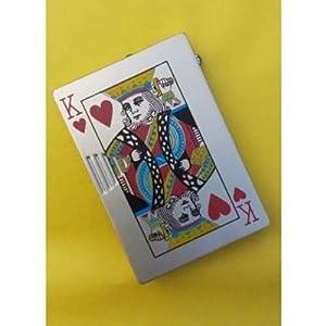 """Swiskart New """"K"""" Playing Card Style Cigarette Lighter"""