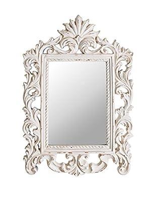 Concept Luxury Wandspiegel Aged weiß