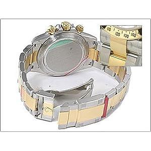 ROLEX デイトナ 116523G シルバーシェル 8Pダイヤ [並行輸入品]