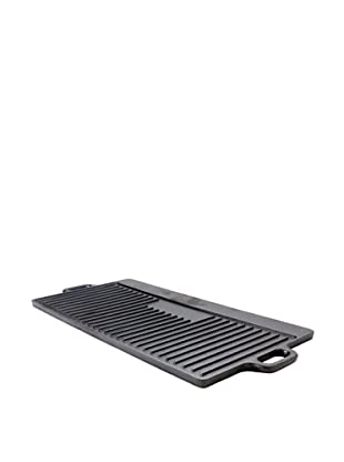 Guro Cast Iron Pro Griddle/Grill Pan (Black)