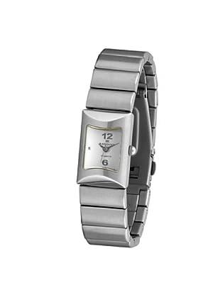 RADIANT 72100 - Reloj de Señora brazalete metálico dial blanco