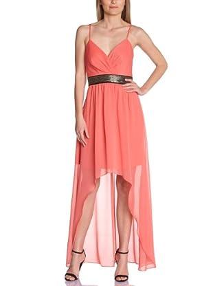 Manoukian Vestido Alejandría de Susiana (Coral)