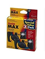 Kod 8951428 Power Flash One Time Use Camera 2 Pack 27 Exp Kmf135