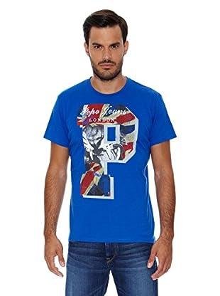Pepe Jeans London Camiseta John (Azul Royal)