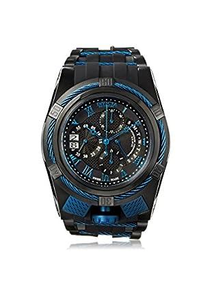 Invicta Men's 12674 Bolt Black/Blue Polyurethane Watch