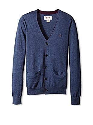 Original Penguin Men's Long Sleeve 5 Button Jersey Cardigan