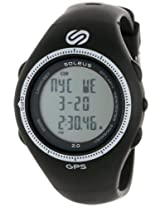 Soleus Men's SG002004 Black and White Digital Watch