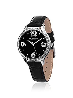 Stührling Women's Chic 560 Vogue Black/Black 316L Surgical Grade Stainless Steel Watch