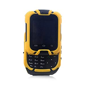 Kenxinda W2 Watch Phone (Yellow)