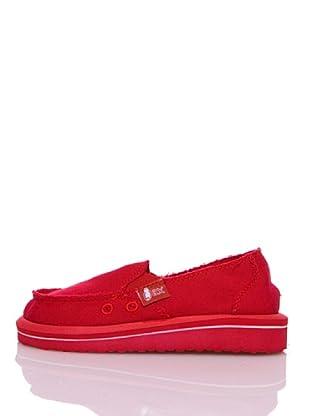 Wax Mocasines Ecológicos (Rojo)