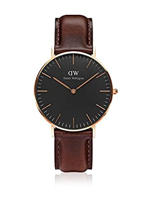 Daniel Wellington Reloj con movimiento cuarzo japonés Man Classic St Mawes brown 40 mm
