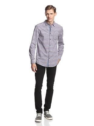 Just a Cheap Shirt Men's Pompeo Shirt (Brown)