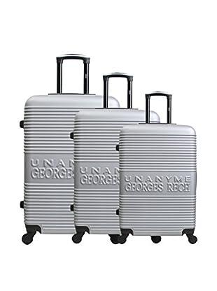 UNANYME GEORGES RECH Set de 3 trolleys rígidos Galati