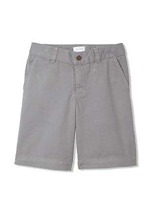 Neige Boy's Palmerston Twill Short (Grey)