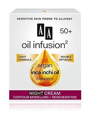 AA Cosmetics Nachtcreme Oil Infusion 50+ 50 ml, Preis/100 ml: 29.9 EUR