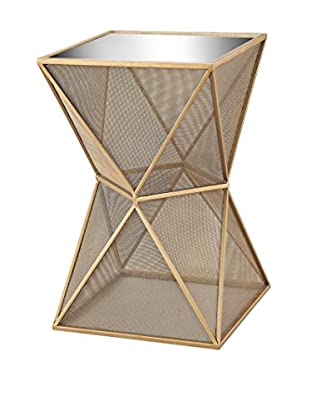 Artistic Magnoux Glam Accent Table, Gold