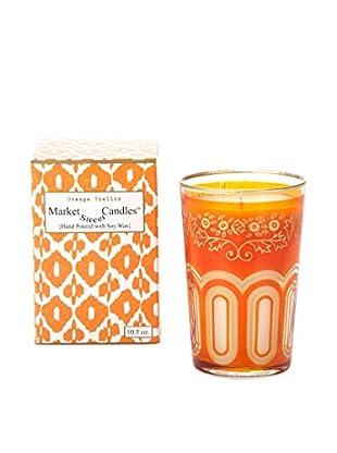 Market Street Candles Orange Trellis 10.5-Oz. Moroccan Candle