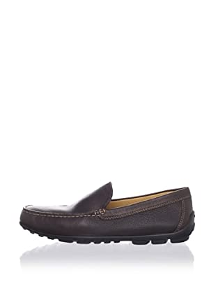 Geox Men's Fast Moccasin (Coffee)